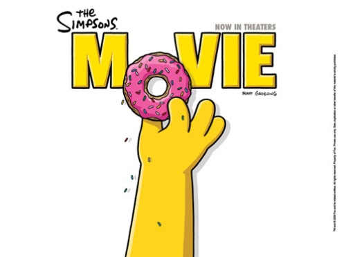 Simpsons póster 2