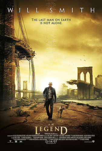 I am legend, poster