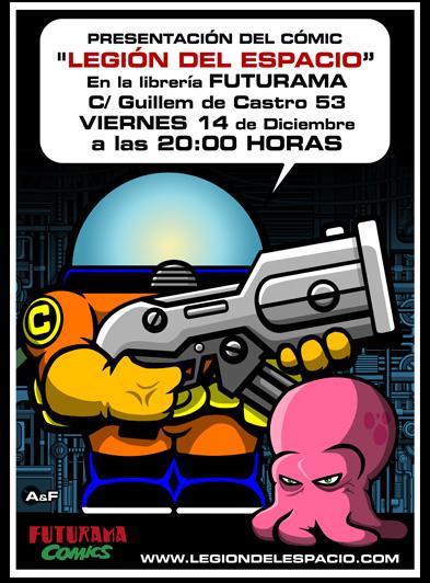 Presentación del cómic de la Legión delEspacio