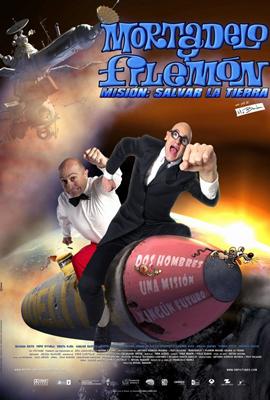 Póster Mortadelo y Filemón: Misión salvar la Tierra2