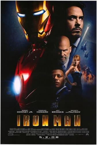 Iron Man póster