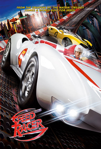 Speed Racer póster 2
